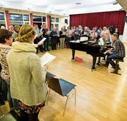 Einer von über 80 Malterser Vereinen: der Kirchenchor. (Bild: Manuela Jans-Koch (5. November 2015))