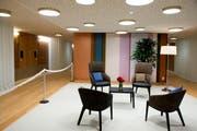 Logen im Betagtenzentrum Emmenfeld, von denen es auf jeder Etage mehrere gibt. (Bild Nadia Schärli)