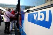Trotz weniger Passagieren machten die VBL im Jahr 2014 mehr Umsatz. (Archivbild Neue LZ)
