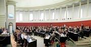 34 Mitglieder des 120-köpfigen Luzerner Kantonsrats sind seit einem Jahr neu im Parlament. (Bild Boris Bürgisser)
