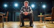 Vom Wallis auf die Bühne des Theaters Schwarzenberg: Tobias Arnold, der die Hauptrolle spielt. (Bild: Dominik Wunderli (Schwarzenberg, 8. Januar 2018))