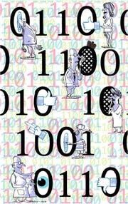 Im Internet wird viel mehr Intimes preisgegeben als dem engsten, persönlichen Umfeld. (Illustration: Tom Werner)