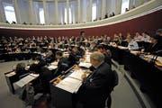 Blick in eine Kantonsratssession. (Bild: Pius Amrein / Neue LZ)