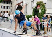 Am Zug Sports Festival konnten die Besucher diverse Sportarten ausprobieren. (Bild Stefan Kaiser)