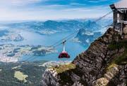 Die Pilatus-Luftseilbahn Dragon Ride. (Bild: Swiss-Image / Urs Wyss)