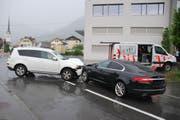 Der Unfall auf der Eichistrasse. (Bild: Kantonspolizei Obwalden)