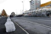 Am Bahnhofplatz sollen Busanbindungen und die Verkehrssicherheit verbessert werden. (Bild Werner Schelbert)