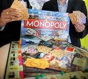 Monopoly erfreut sich nach wie vor grosser Beliebtheit. (Bild: Pius Amrein)