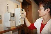 Auch im Haus der Römerswiler Gemeinderätin Rita Galliker wurde der so genannte Smart Meter installiert. (Bild Manuela Jans/Neue LZ)