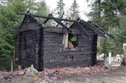 Das Haus an der Fischenbachstrasse in Schachen geriet in Brand. (Bild: PD)