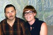 Die erfolgreichen Luzerner Filmemacher Corina Schwingruber Ilic und Nikola Ilic. (Bild: Romano Cuonz / Neue NZ)