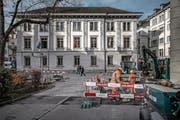 Blick auf das Haus des kantonalen Finanzdepartements. (Bild: Pius Amrein (Luzern, 21. November 2017))