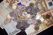 Das Wort «Eurokurs» ist das meistgegoogelte Wort 2015 in der Schweiz. (Symbolbild Keystone)