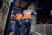 Die Luzerner Polizei auf Patrouille. (Archivbild Dominik Wunderli / Neue LZ)