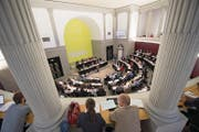 Der Kantonsrat berät das Budget: Für Vorstösse bleibt kaum Zeit. (Bild: Urs Flüeler/Keystone (11. September 2017))