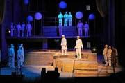 Intensive Proben: Im Bild eine Szene aus der Produktion «Big Bang». (Bild: pd)