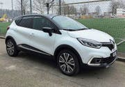 Der Renault Captur kommt mit neuer Front daher. (Bild: Matthias Hafen)