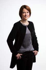 Die Schwyzer FDP-Nationalrätin Petra Gössi. (Bild: Keystone / Gaetan Bally)