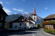 Die Dorfkirche von Bürglen (Archivbild). (Bild: Keystone)