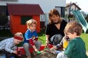Familienergänzende Kinderbetreuung im eigenen Heim ist für viele Familien ein zunehmendes Bedürfnis. (Bild pd)