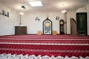 Am Wochenende treffen sich hier gläubige Muslime zum Beten. (Bild Maria Schmid)