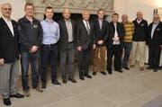 Gründungsversammlung: Roman Zinniker, Christoph Arnold,Marc Scherrer, Philipp Bühler, Paul Winiker, Adrian Stettler, Christian Zimmermann, Günther Kläntschi, Ernst Bucher, Robert Röthlin.