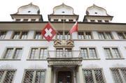 Das Regierungsgebäude in Schwyz. (Bild: Manuela Jans)
