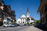 Das Dorfzentrum von Hochdorf. (Bild: Manuela Jans (Neue LZ))