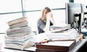 Wenn die Arbeit zu viel wird, muss schnell gehandelt werden.Bild: Stefan Kaiser (23. März 2017)