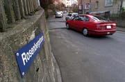 Die Rosenbergstrasse in Zug. (Archivbild Neue ZZ)