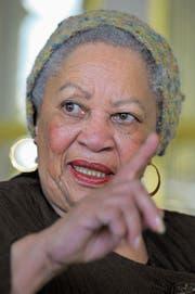 Toni Morrison, die 1993 den Nobelpreis für Literatur erhalten hat, gilt als moralische Autorität. (Bild: Philippe Wojazer/Reuters (3. November 2010))