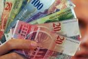 Im Kanton Luzern wird monatlich eine Kinderzulage von 200 Franken pro Kind ausbezahlt. (Bild: Archiv / Neue LZ)