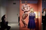 Die Ausstellung «Bin ich schön?» im Forum Schwezer Geschichte befasste sich mit der Macht der Schönheit und der Schönheitsideale. (Bild: Pius Amrein / Neue LZ)