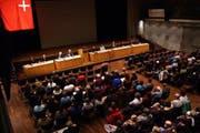 Das entsprechende Geschäft kommt am Mittwoch nicht vor die Gemeindeversammlung in Schwyz. (Bild: Archiv Neue LZ)