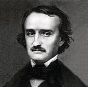 Edgar Allen Poe auf einem undatierten Foto. (Bild: AP Photo/ho)