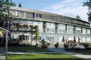 Das Pflegeheim Steinhof in Luzern. (Bild: Archiv PD)