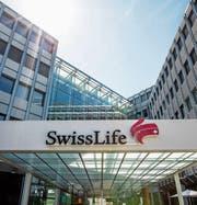 Der Sitz von Swiss Life an der Zürcher Grubenstrasse. (Bild: Christian Merz/Keystone (2. August 2017))