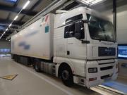 Der Lastwagen mit bulgarischen Kontrollschildern war mit zahlreichen Mängeln unterwegs. (Bild: Kantonspolizei Uri)