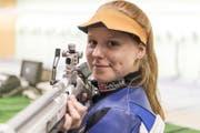 Nina Christen (Sportschiessen Gewehr, 22, Wolfenschiessen) (Bild: Lukas Lehmann / Keystone)