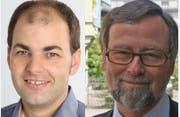 Thomas Lang (links) übernimmt im Sommer die Aufgabe von Hansruedi Kleiber (rechts). (Bild: PD)