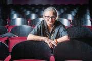 Sie schaut den Menschen aufs Maul: Autorin Katja Früh im Zuschauerraum des Casinotheaters Winterthur. (Bild: Urs Bucher)