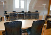 Blick in den Gerichtssaal im Stanser Rathaus. (Bild Markus von Rotz)
