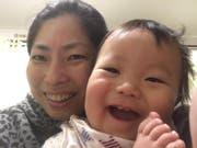 Miki mit ihrem kleinen Sohn. (Bild: PD)