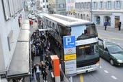 Der Doppelstock-Car der VBL, der zwischen Altdorf und Luzern als Tellbus unterwegs ist, im März 2009. (Archivbild Urs Hanhart/Neue LZ)
