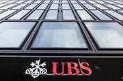 Das Firmenlogo der UBS-Bank. (Bild: Keystone)