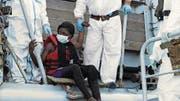 Einer der aus dem Mittelmeer Geretteten in «Eldorado». (Bild: PD)