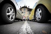 In Kriens wird über ein neues Parkplatzreglement abgestimmt. (Bild: Pius Amrein (Kriens, 8. November 2010))