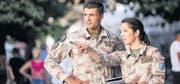 Ein Liaison and Monitoring Team (LMT) ist im Kosovo im Einsatz. (Bild: pd)