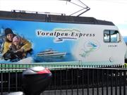 Der Voralpen-Express von Luzern anch St. Gallen – aufgenommen im Bahnhof Meggen. (Symbolbild) (Bild: Leserbild Margrith Imhof-Röthlin)