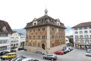 Das Rathaus in Schwyz: (Archivbild). (Bild: Manuela Jans / Neue LZ)